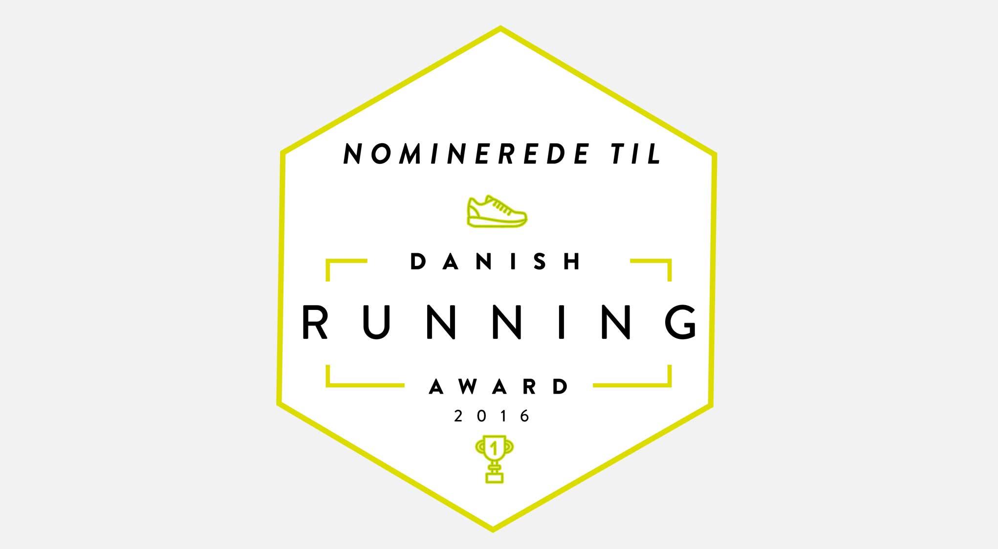 Shortlisten til Danish Running Award 2016 er offentligjort!